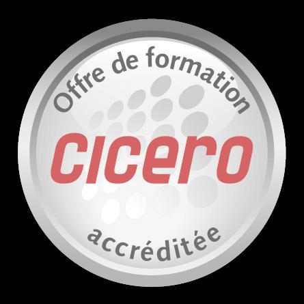 Plus Sept est accrédité Cicero et propose aux compagnies d'assurances des formations vente et management commercial sur mesure