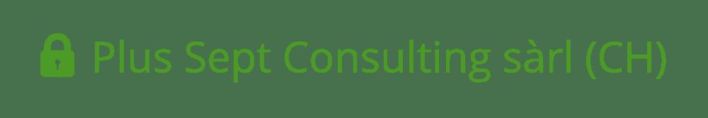 Le site de Plus Sept Consulting sàrl est sécurisé avec un certificat EV SSL que vous constatez par la barre verte dans votre navigateur.