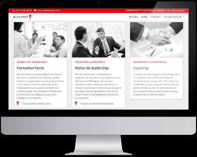 Le nouveau site www.PlusSept.com - Plus Sept