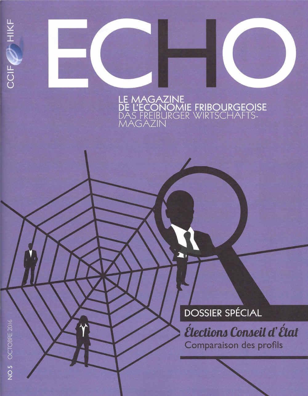 CCIF - Echo, le magazine de l'économie fribourgeoise