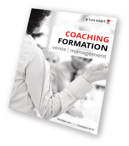 Couverture du catalogue formation et coaching vente et management
